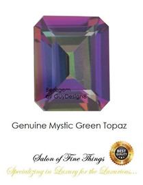 Mystic Green Topaz, Faceted & Cabochon Loose Gemstones, 10410