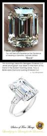 14.22 Ct Emerald Cut Benzgem: Best G-H-I-J Diamond Quality Imitation: GuyDesign® Vera Krupp, Elizabeth Taylor Style Engagement Ring: Lab-Grown Baguette Diamonds Platinum Jewelry, 10419