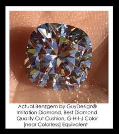 10 Carat Cushion Cut - Jewelry Designer