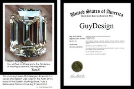 9 Carat Emerald Cut - Jewelry Designer
