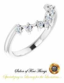 1-B Platinum Diamond GuyDesign Wedding Ring