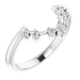 3-B Platinum Diamond GuyDesign Wedding Ring
