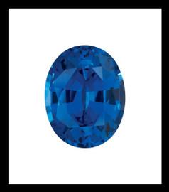 5 Oval-Cut 6.50 Carat Corundum Sapphire
