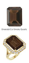#240 18K Natural H&A 64 Super Ideal Cut Diamond 11.4 ct. Quartz Custom Jewelry