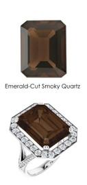 0000239 Platinum H&A 64 Diamond 11.4 ct. Quartz Custom Jewelry