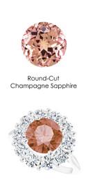 36804 Platinum Max Sparkle Natural H & A Super Ideal Cut Diamonds 3.7ct Sapp. Diana Ring