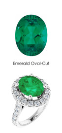 0000352 Plat Hearts & Arrows 26 Diamonds 4.2 ct. Emerald Bespoke Ring
