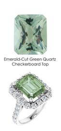 #348 Platinum Natural Hearts & Arrows 28 Super Ideal Cut Diamonds 5.4 ct. Quartz Bespoke Ring