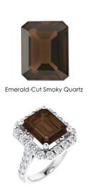 #350 Platinum Natural Hearts & Arrows 28 Super Ideal Cut Diamonds 5.5 ct. Quartz Bespoke Ring