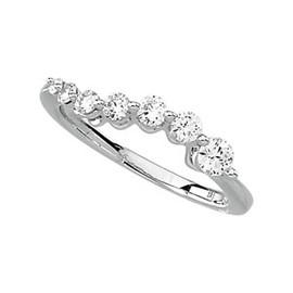 10731 Authentic Journey Natural Diamond & Platinum 1 Carat Ring