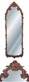 "Classic Elements, 49"" Beveled Glass Reproduction Dressing Mirror, Custom Finish, 6092"