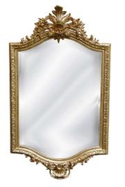 "Classic Elements, 42"" Rectangular Shape Beveled Glass Reproduction Mirror, Custom Finish, 6078"