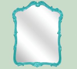 "Classic Elements, 41"" Rectangular Shape Beveled Glass Reproduction Mirror, Custom Finish - Rectangular Mirror - Custom Finish, 6077"