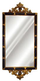 "Classic Elements, 51"" Rectangular Shape Plate Glass Reproduction Mirror, Custom Finish, 6069"