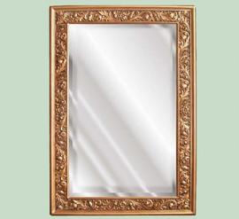 "Classic Elements, 50"" Rectangular Shape Beveled Glass Reproduction Mirror, Custom Finish"