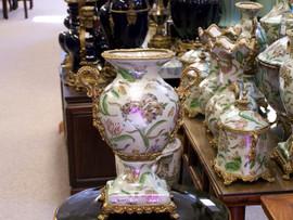 Lyvrich Handmade Luxury Porcelain and Gilded Ormolu - Vase