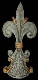 Classic Elements, Fleur de lis 15t x 7w Finial, Custom Finish