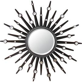"""Round Sunburst 60"""" Mirror with Smaller Mirror Accents, 4945"""