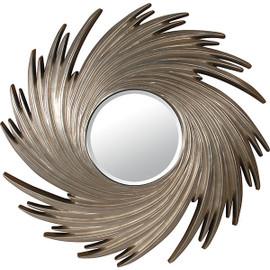 Silver Parcel Gilt Katrina Sky Swirl Mirror, 4939