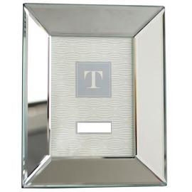 Beveled Glass Mirror 4 X 6 Photo Frame