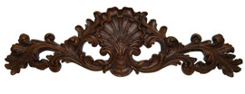 "Rocaille Coquille, Classic Elements, 35"" Rocaille Shell Wall Plaque Over Door Pediment, Custom Finish 6902 - Classic Elements - Rocaille Coquille"