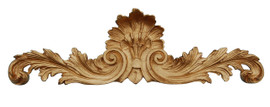 "Rocaille Coquille, Classic Elements, 40"" Rocaille Shell Wall Plaque Over Door Pediment, Custom Finish 6895 - Classic Elements - Rocaille Coquille"
