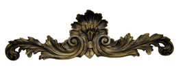 "Rocaille Coquille, Classic Elements, 40"" Rocaille Shell Wall Plaque Over Door Pediment, Custom Finish 6896 - Classic Elements - Rocaille Coquille"