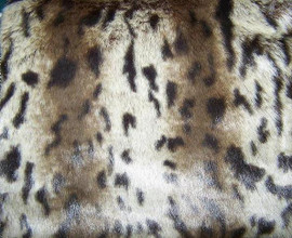 """Melanistic Jaguar - Luxaire Faux Fur Pet Blanket Lounger - Natural look and Luxuriously Soft - 30"""" X 36"""", 3522"""