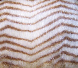 Herringbone Pattern Mink - Luxaire Faux Fur Pet Blanket | Lounger - Natural look and Luxuriously Soft - 30 X 36 Inches