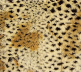 """Cheetah Luxaire Faux Fur Pet Blanket 