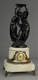 "European Styled, 28"" Mantel, Table Clock, 2494"