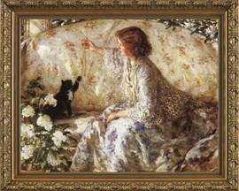 Hydrangeas - Framed Canvas Artwork - Philip Wilson Steer 2446