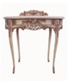 Custom Decorator - Classic 2 Drawer Bonheur-de-Jour 33.9 inch Writing Desk | Secretary