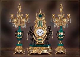 BESPOKE CLOCKS, CANDELABRA - LEB COLLECTION