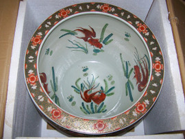 An interior of an LCP - Luxury Chinese Fish Bowl | Fishbowl - Patterns Only!
