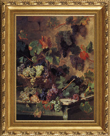 Harvest in Tuscany - Oreste Costa - Framed Canvas Artwork4 sizes available|Click for info