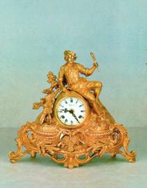 #Ornamental d'Oro Ormolu - Desk, Mantel, Table, Louis XV, Rococo Clock - Choose Your Finish - Handmade Reproduction of a 17th, 18th Century Dore Bronze Antique, 6726
