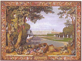 Versailles Promenade - Hand Woven Tapestry