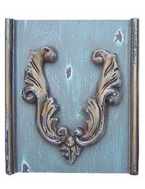 ➨ Custom Decorator Shabby Chic Gray | Grey - French Gray | Grey with Gold Furniture Finish