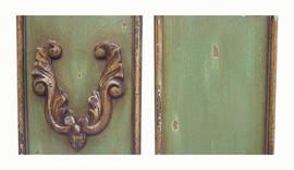 ➨ Custom Decorator Shabby Chic Green - Ocean Green Furniture Finish