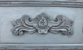 ➨ Custom Decorator Shabby Chic Silver - Sterling Silver Furniture Finish
