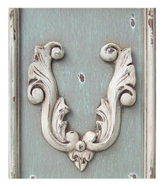➨ Custom Decorator Shabby Chic Gray | Grey - French Gray | Grey with Antique White Furniture Finish