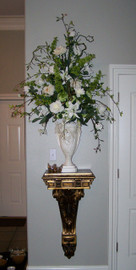 Architectural Accents Acanthus & Gilt - 35.5 Inch Console   Bracket   Corbel