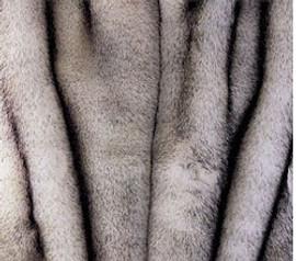 "Norwegian Fox Faux Fur Pet Lounger - Natural look & Luxuriously Soft - 30"" X 36"""