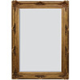 "A Fancy French Baroque Louis Quatorze Style, 7.5"" Oversized Frame Palace 86t x 62w Drama Bevel Glass Antiqued Gold Mirror"