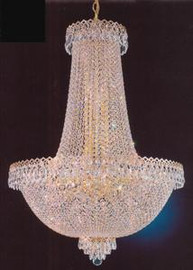 Napoleon French Empire Cyrstal Chandelier