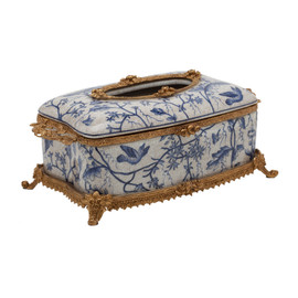 """#Lyvrich d'Elegance, Porcelain and Gilded Dior Ormolu 