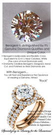 2 Carat, Luxury Round Cut Benzgem Solitaire, Benzgem Diamond Quality Color and Cut matches believably the Natural 32 Diamond Semi-Mount; GuyDesign® Halo Design Engagement or Right Hand Ring, 18k Rose Gold, 6659,