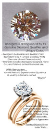 2.00 Benzgem by GuyDesign® G-H-I-J Natural Color, Best fake Diamond in the World, Luxurious 2 Carat Hearts & Arrows, Ideal Cut Fantasy Diamond, Classic Tiffany Solitaire Ring, 18 Karat Rose & White Gold, 6668