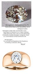 2.66 Benzgem by GuyDesign® 02.66 Carat Brilliant Oval Shape, I-J Color Fantasy Diamond, 14k Rose Gold Men's Aiden Ring 6813